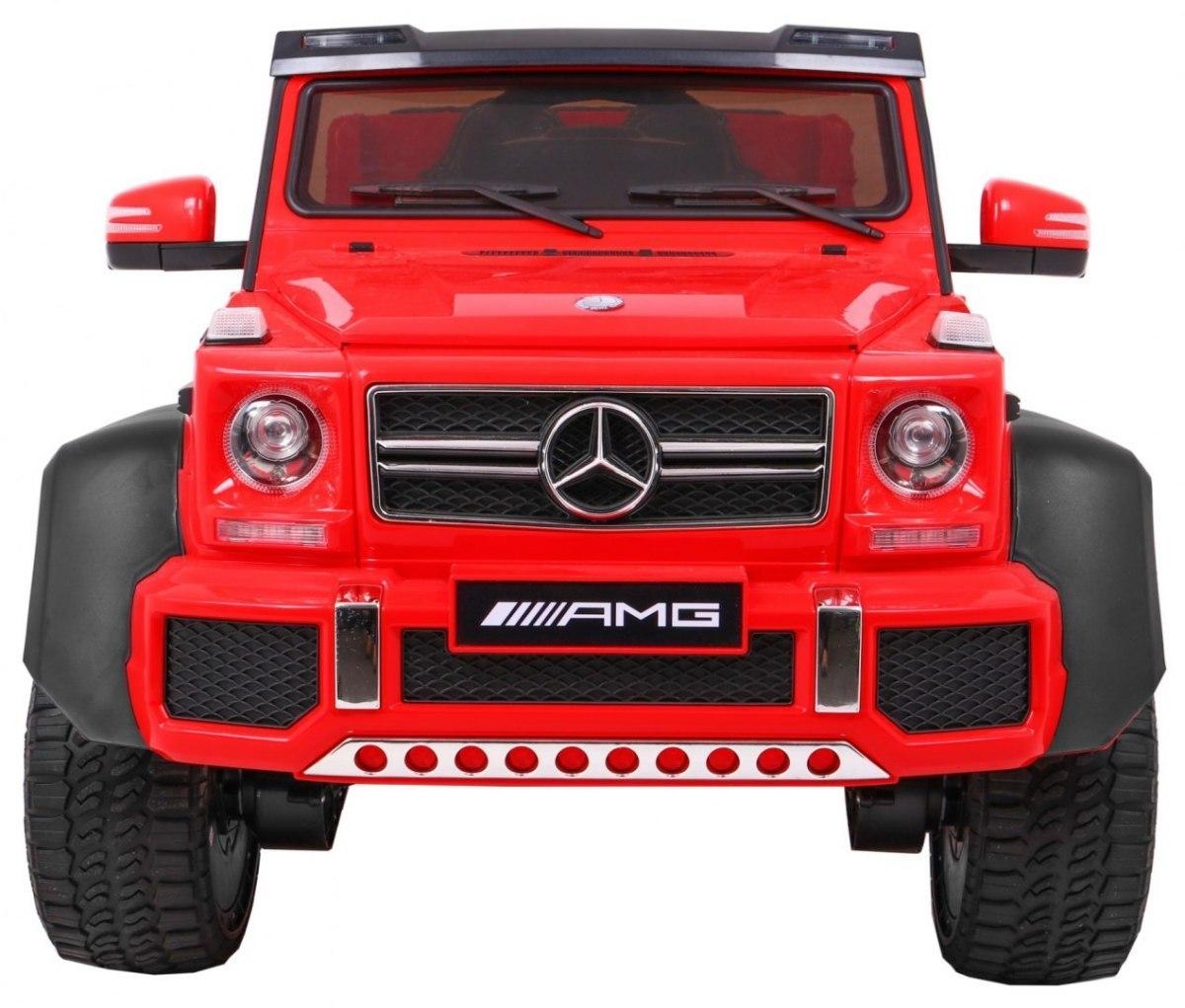 mercedes 6x6 czerwony